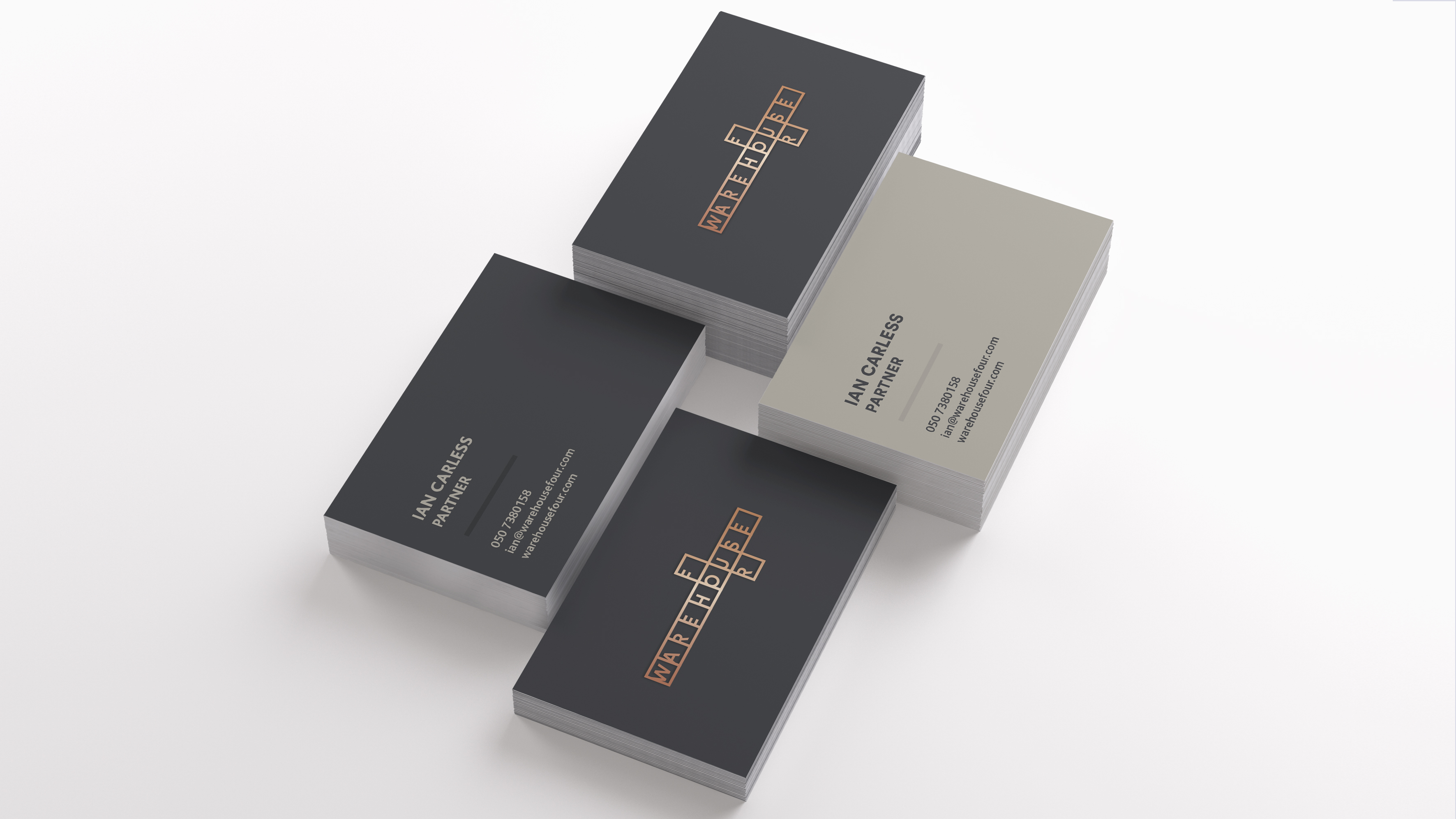 WAR Brand Identity Development Business Card V1
